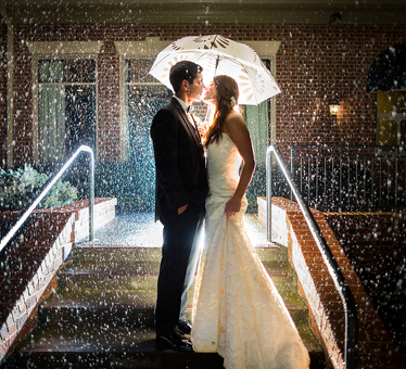 Top 5 places to get hitched during this monsoon